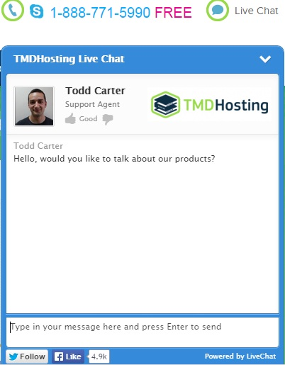 tmdhosting review customer support