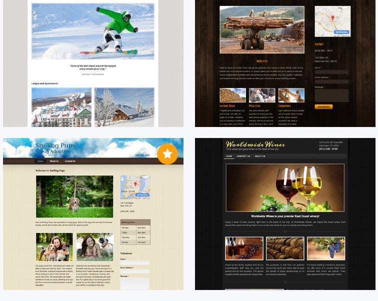 webs review templates