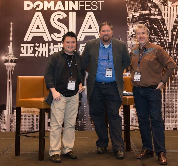 Domainfest founders Jothan, Simon and Edmon
