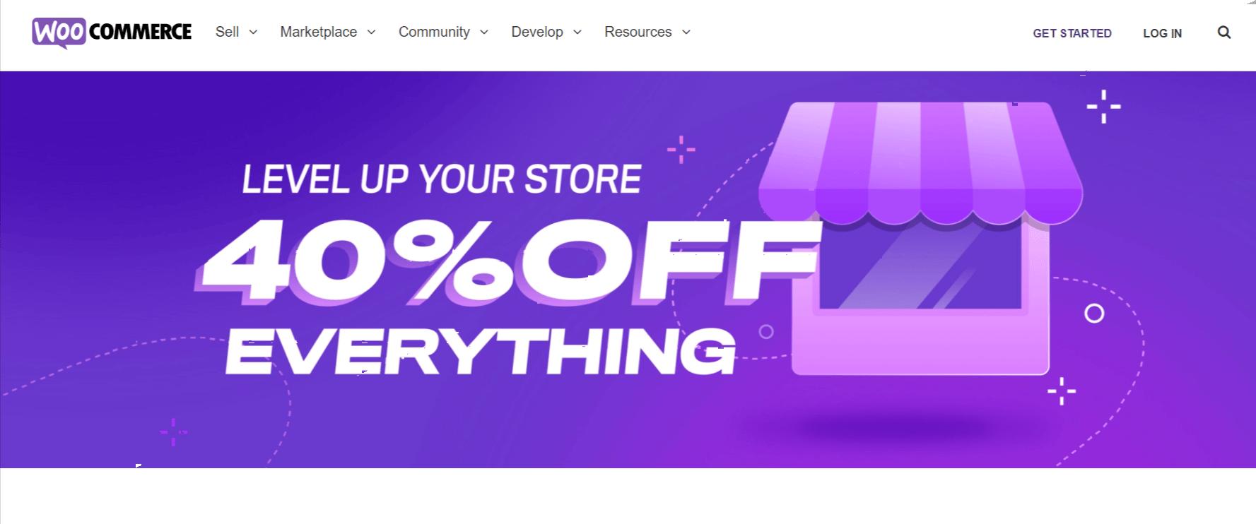 Get 40% off woocommerce vs shopify