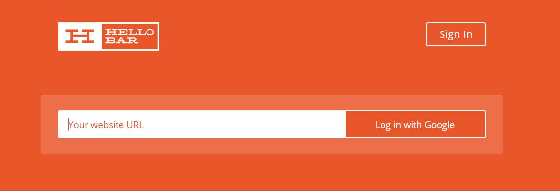 HelloBar WordPress Plugin