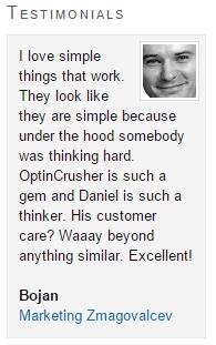 Optin Crusher WordPress Plugin