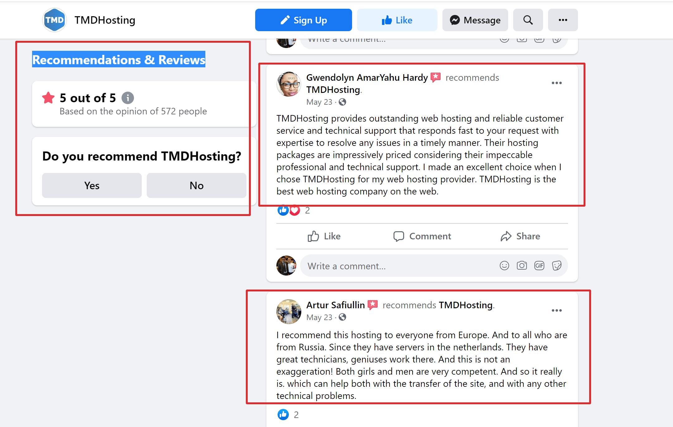 TMDhosting uptime reviews