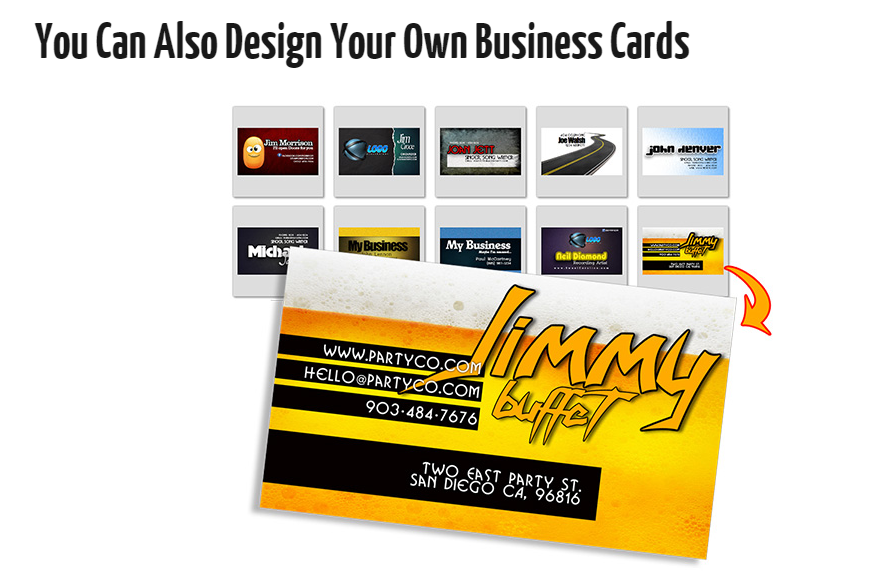 The Logo Creator business cards
