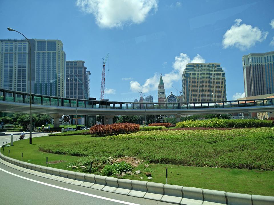 The Urban yet Green Ladscape of Macau