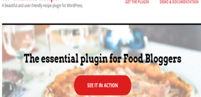 WP Ultimate Recipe recipe plugin for WordPress