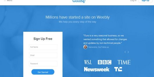 Weebly review featured image