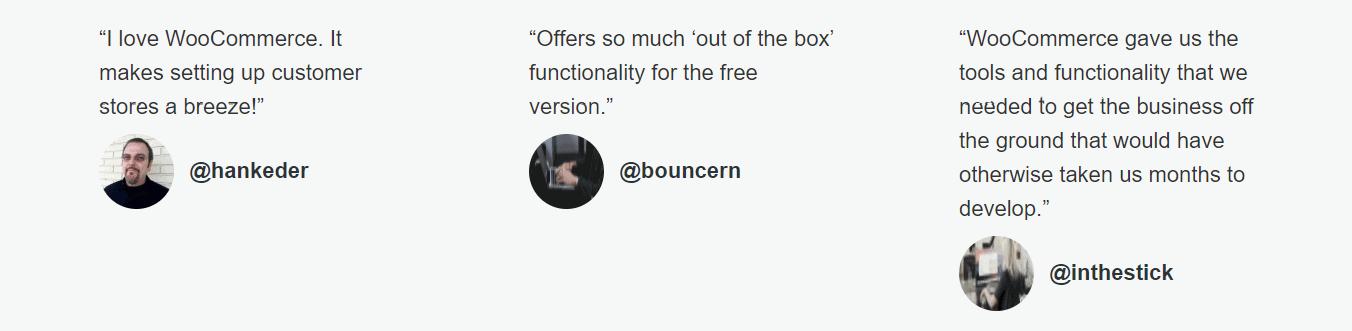 WooCommerce Customer reviews