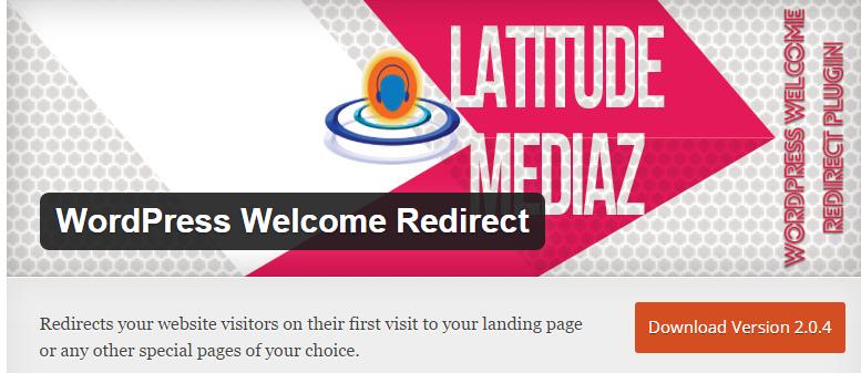 Wordpress welcome gate plugin
