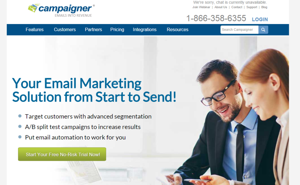 Campaigner Email Marketing Services Email Marketing Solutions