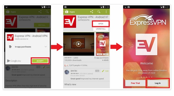 ExpressVPN review app