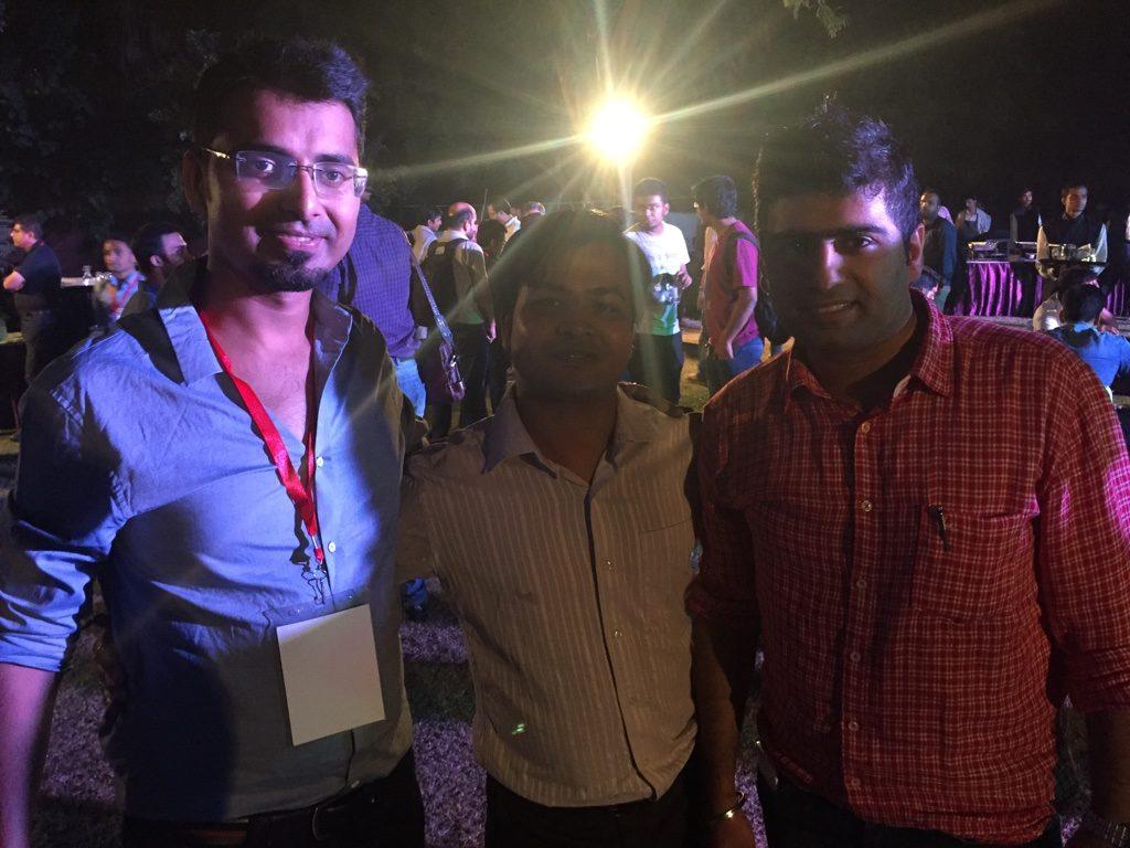 Harsh Agarwal, Dipesh Garg and Aishwin Vikhona