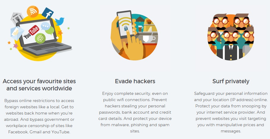 HideMyAss Review privacy