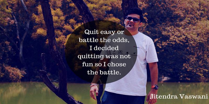 Jitendra Vaswani Quotes blogs
