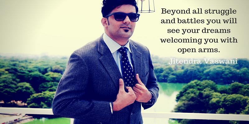 Jitendra Vaswani blogger from India