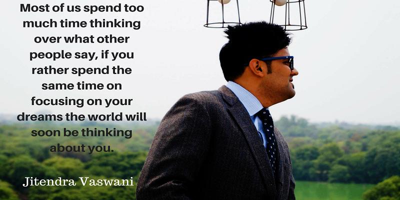 Jitendra Vaswani inspirational quotes