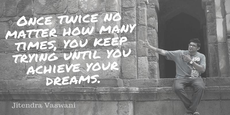 Jitendra Vaswani motivational quotes
