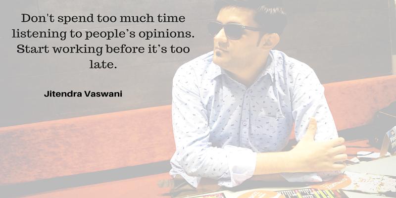 Jitendra Vaswani quotes blogger from India