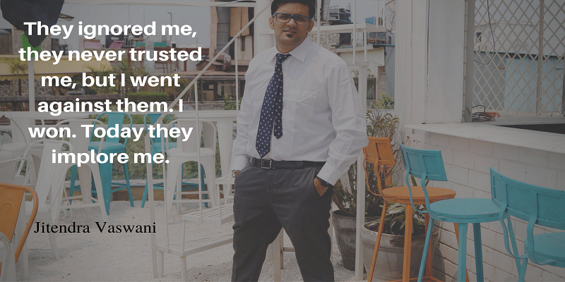 Jitendra vaswani blogging quotes faith