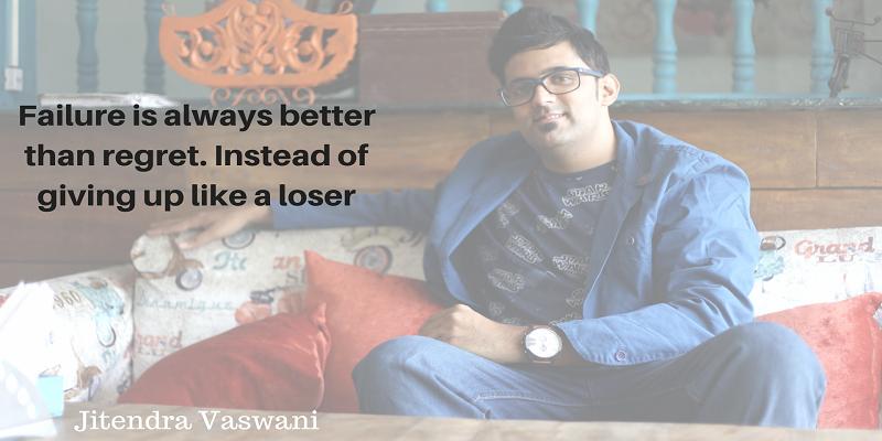 Jitendra vaswani blogging quotes