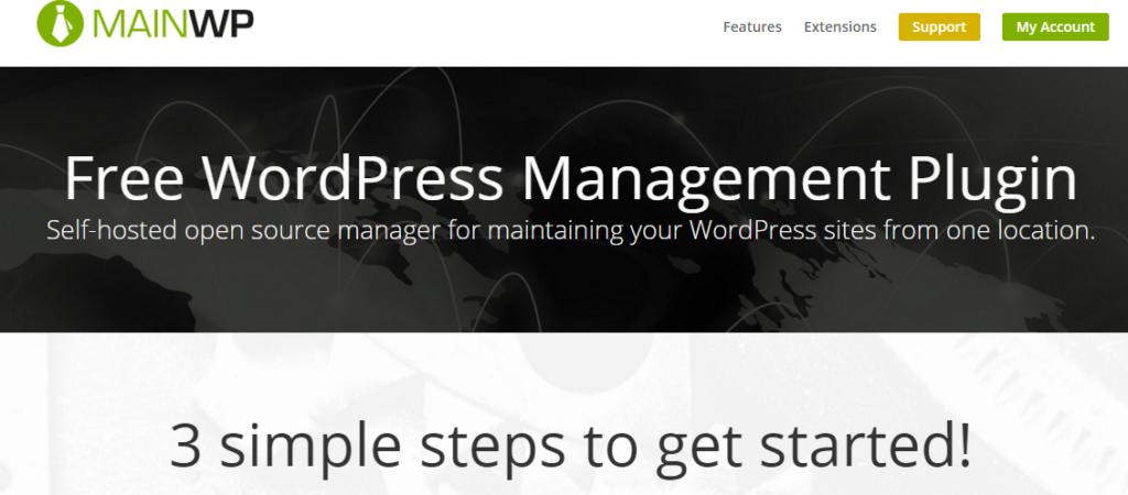 MainWP Free WordPress Management Plugin