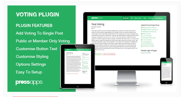 Post Voting WordPress Plugin