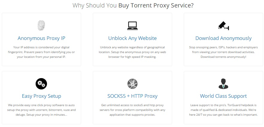 TorGuard review why bittorrent