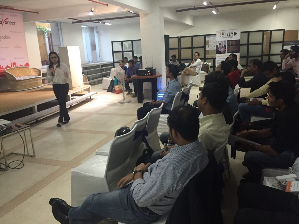Truelancer and payoneer digital conclave event full crowd