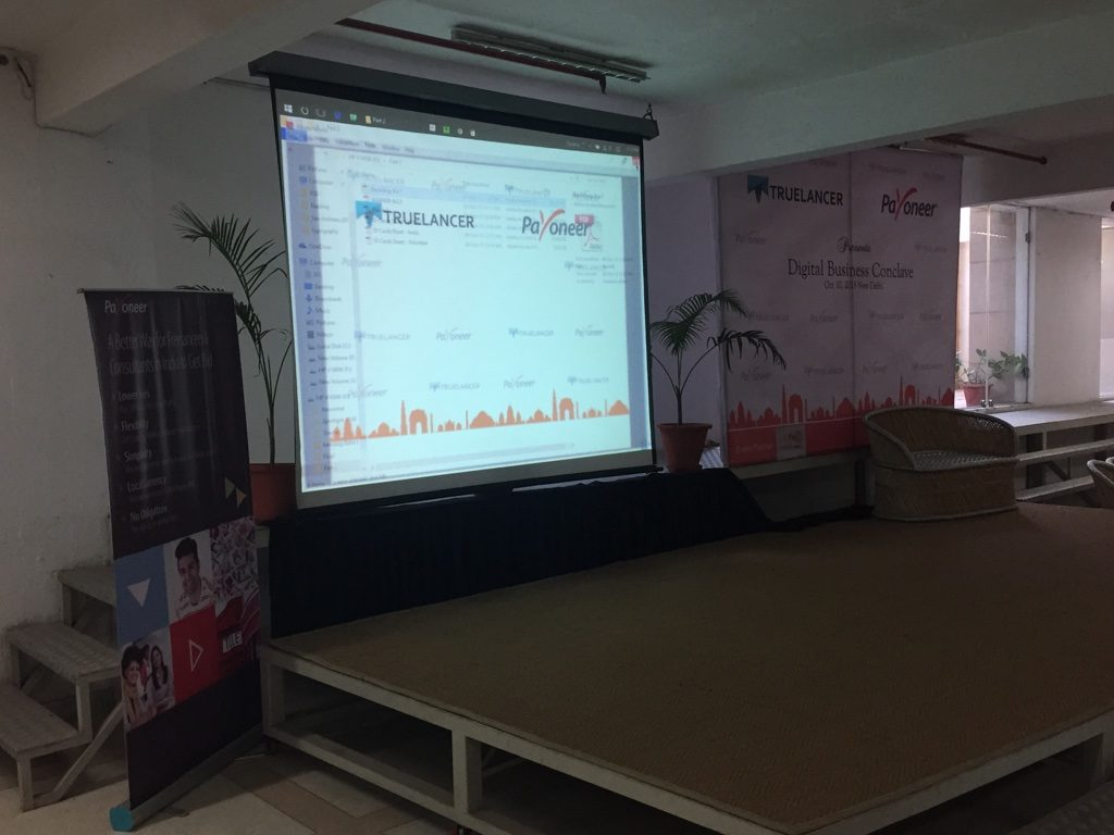 Truelancer and payoneer digital conclave event ppt
