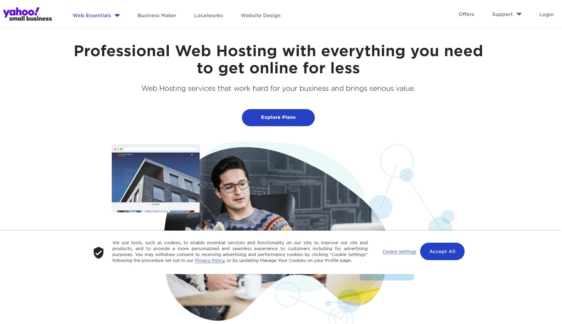 Web Hosting Review- Yahoo web hosting review