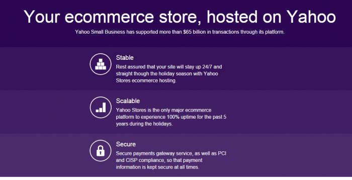 Yahoo Ecommerce Start an Ecommerce Store