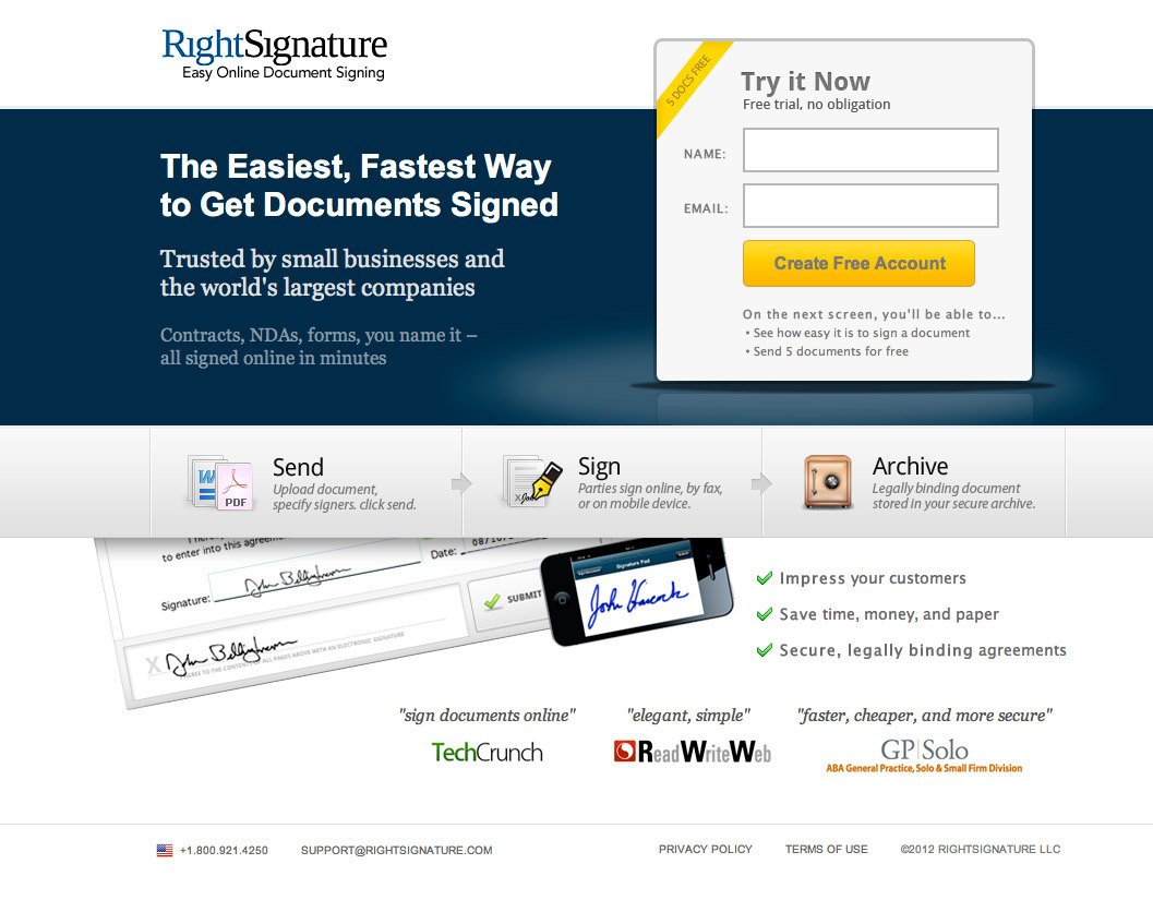 7 ways to engage website visitors and increase ROI landing page