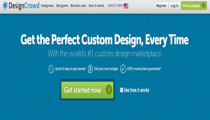 DesignCrowd Get The Offer Now
