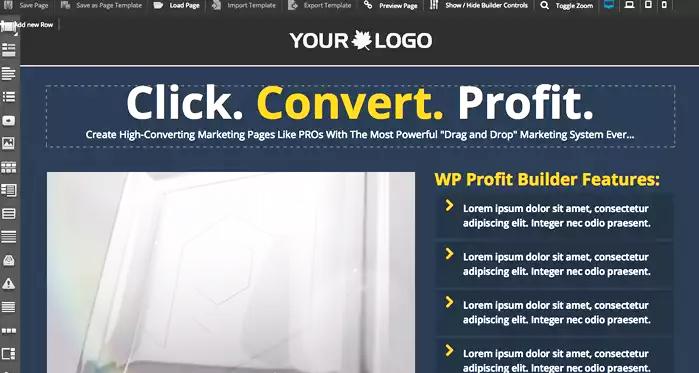Features of WP Profit Builder