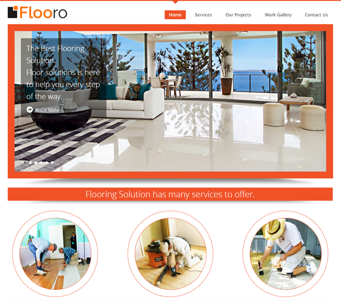 Flooro WordPress Theme