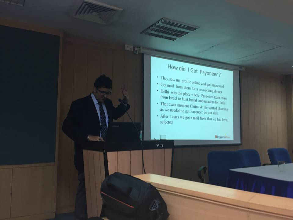 Jitendra Vaswani at Amity University