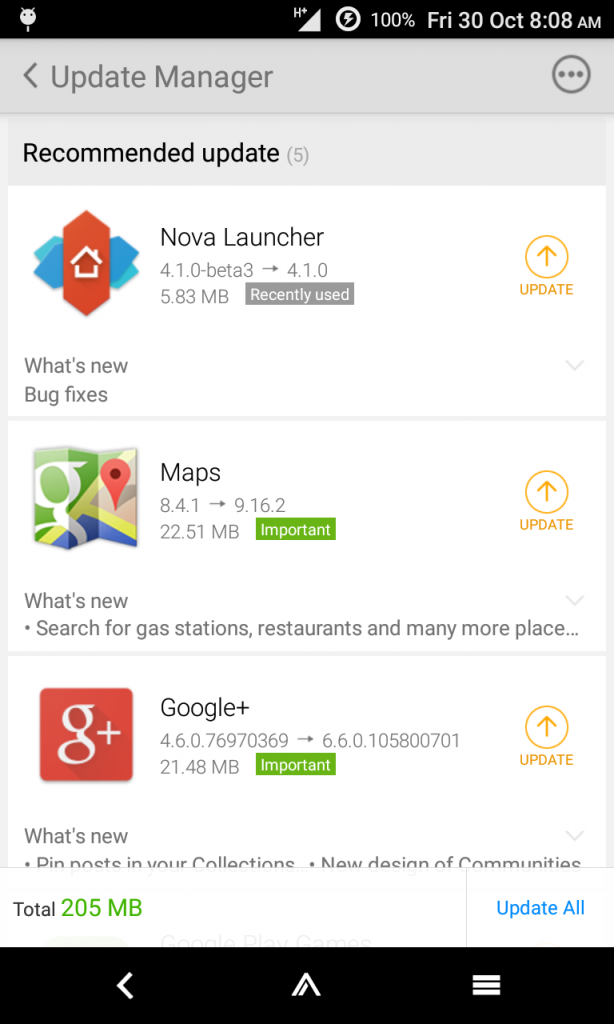 MoboMarket Update Manager