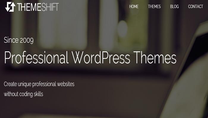 ThemeShift Professional WordPress Themes