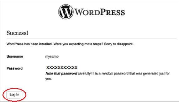 WordpressSuccess