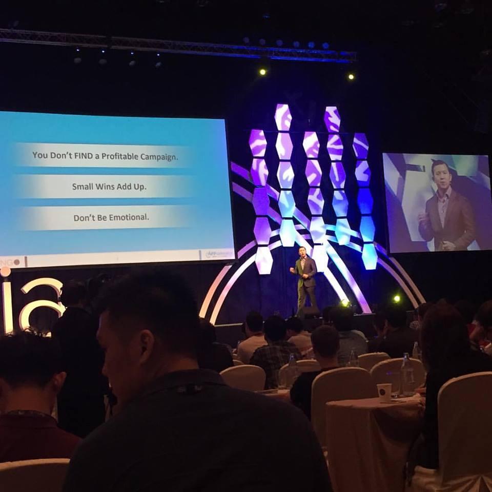 Charles ngo speaking at AWA Bangkok