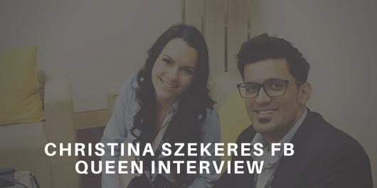 Christina Szekeres FB Queen