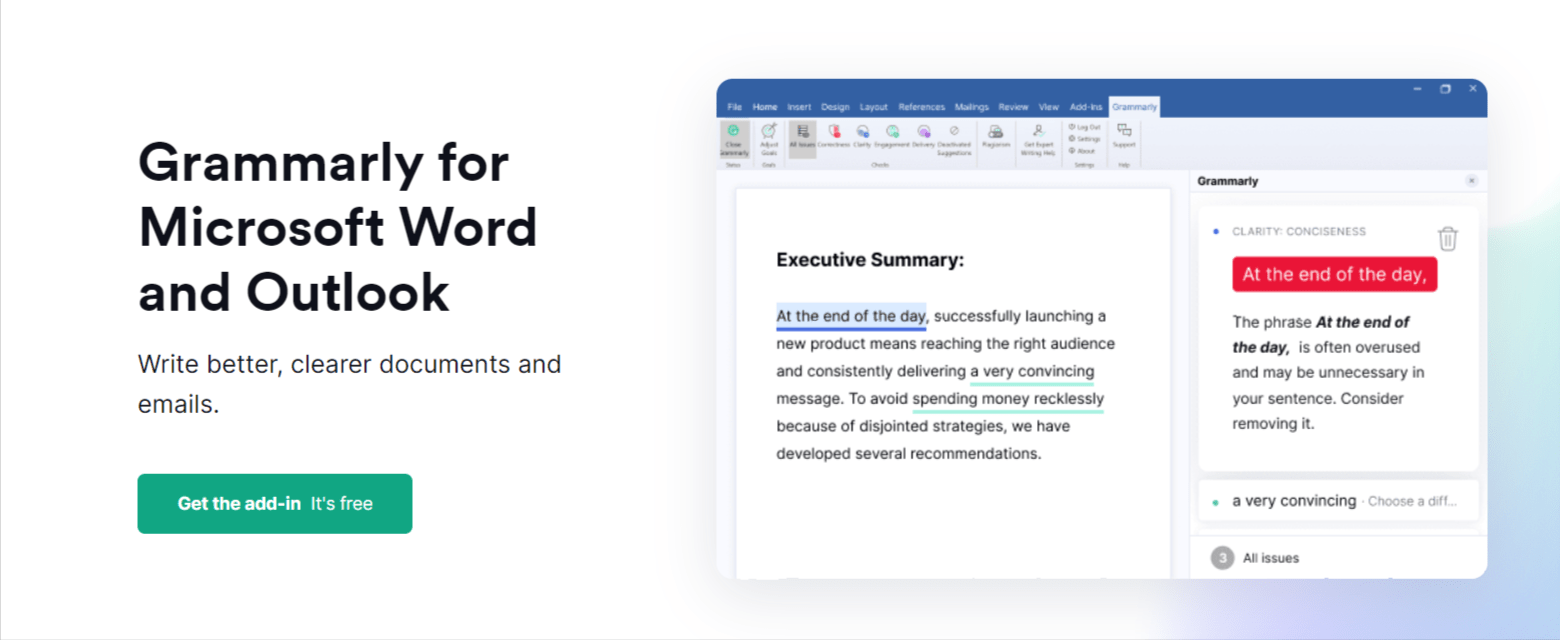 Grammarly for MS -Grammarly Review