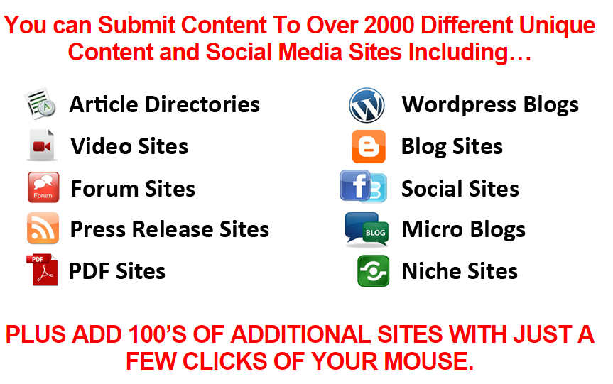 Magic Submitter features list
