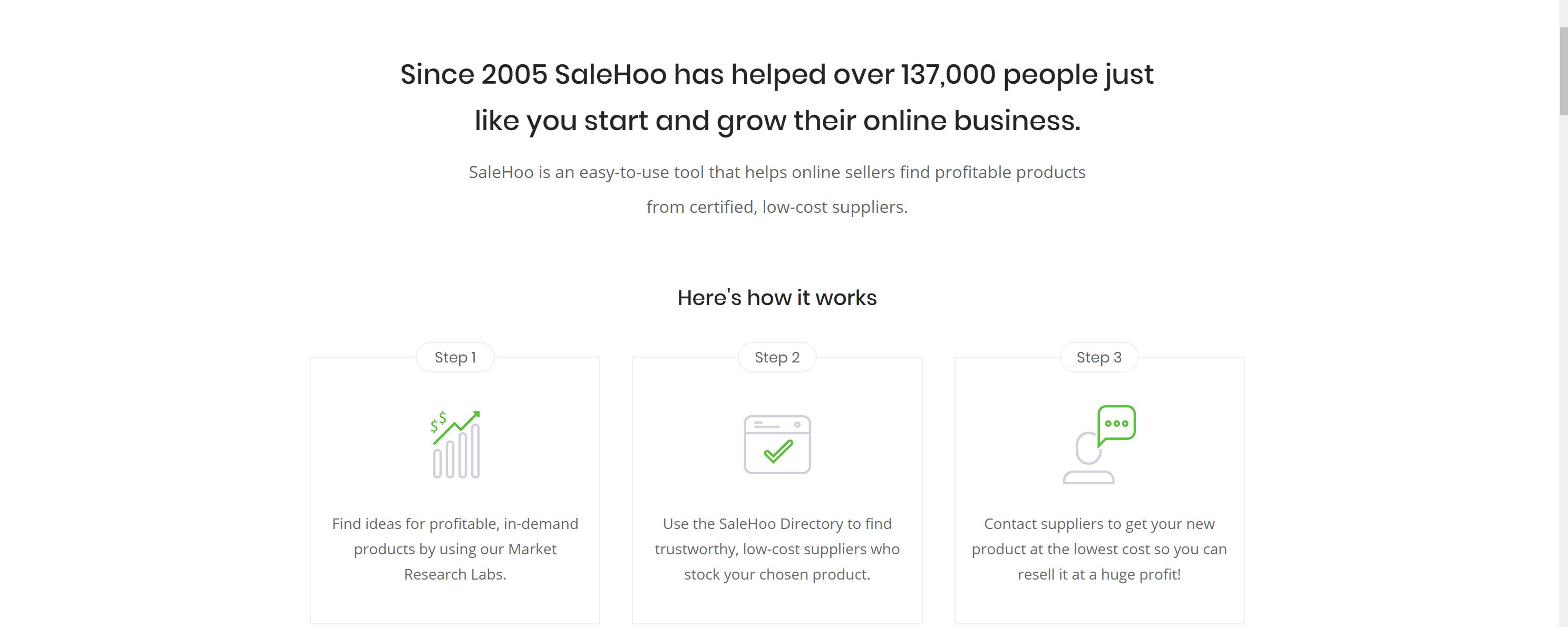 SaleHoo scam or legit