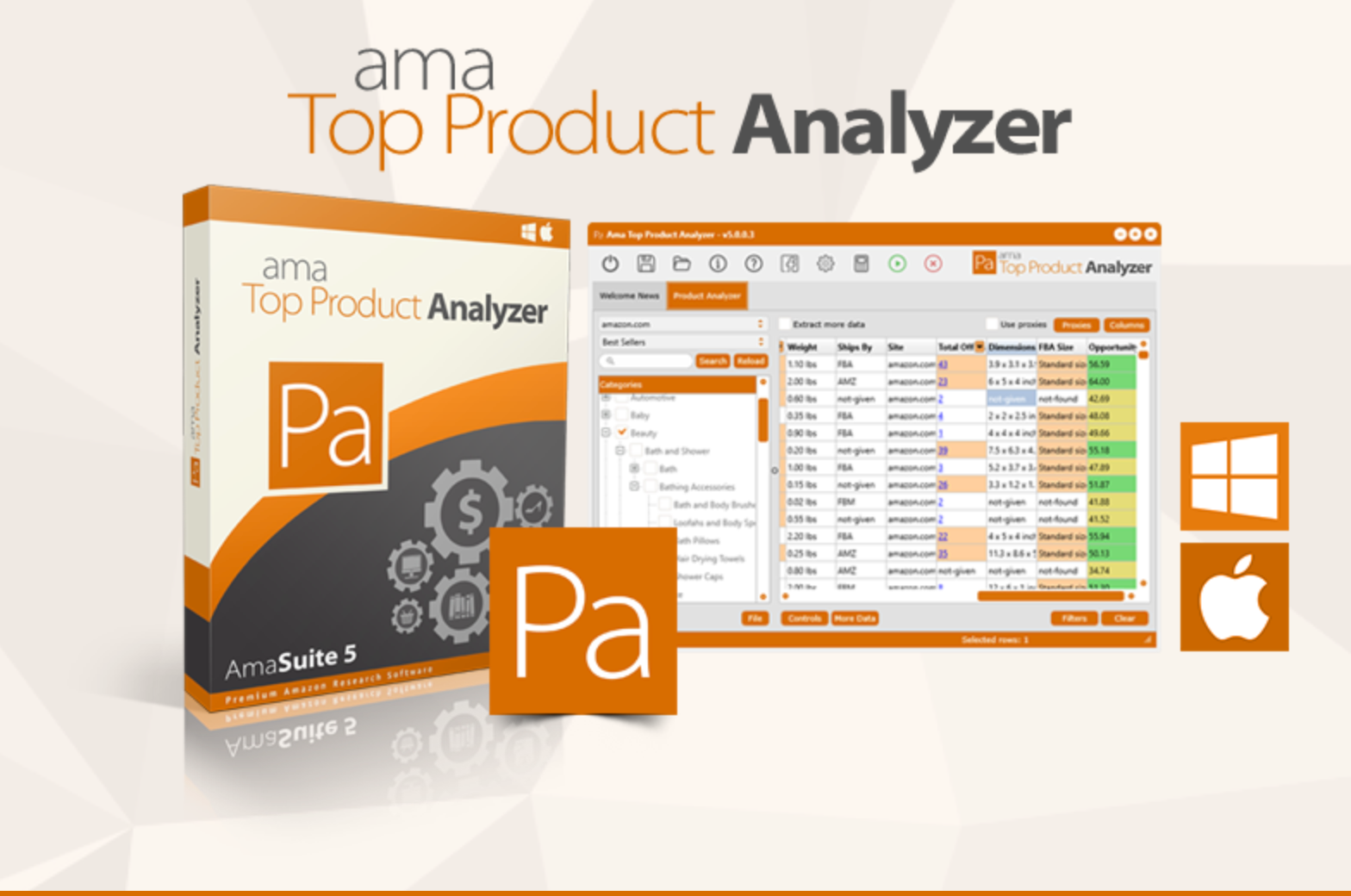 AmaSuite- Product Analyzer