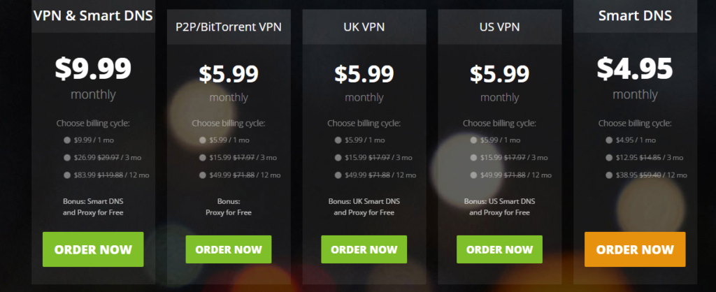 Hide your IP HIDEIPVPN pricing