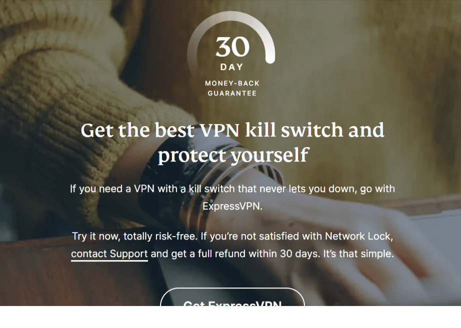 Kill Switch -Express VPN Review