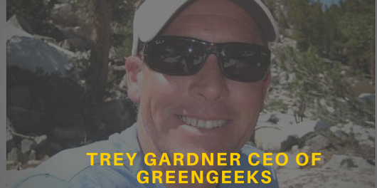 Trey Gardner CEO of GreenGeeks