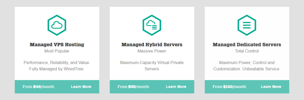 WiredTree Managed Dedicated Servers and VPS Web Hosting