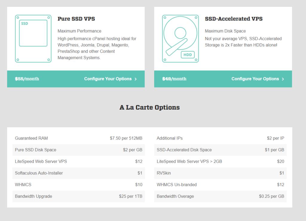 WiredTree Managed VPS Web Hosting SSD VPS Server